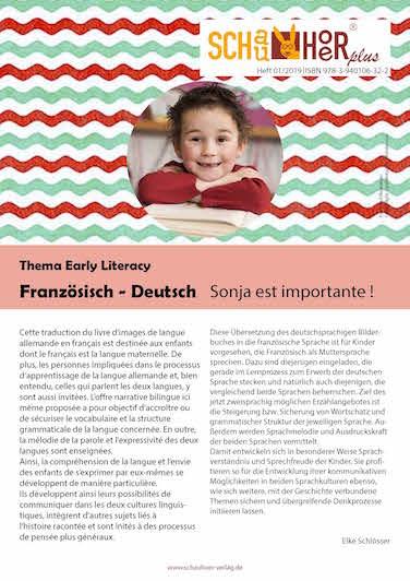 zweisprachig, bilingual, mehrsprachig, französisch, deutsch, Unterricht, Kinderbuch, Elke Schlösser