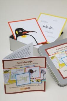 Kartenset Natur, Erzählwürfel, Bildkarten, Sprachförderung, Martina Ducqué, Christiane Strauss, SchauHoer Verlag