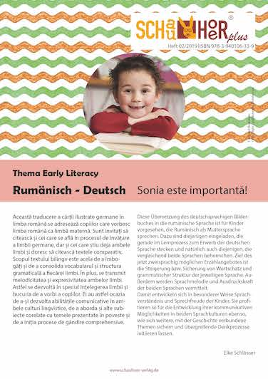 Zweisprachiges Bilderbuch zum Thema Ich, Rumänisch-Deutsch, zur Wortschatzerweiterung und Sprachförderung